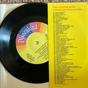 Pete's Dragon Vintage 45 record